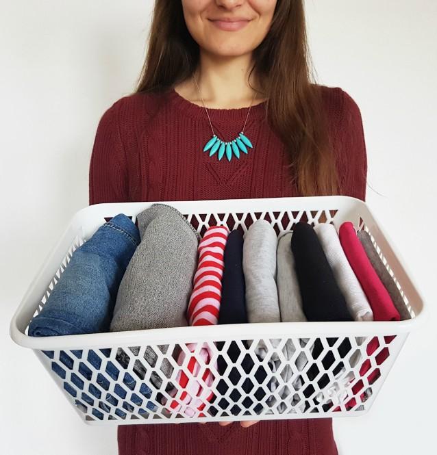 KonMari metoda organiziranja odjeće i ormara