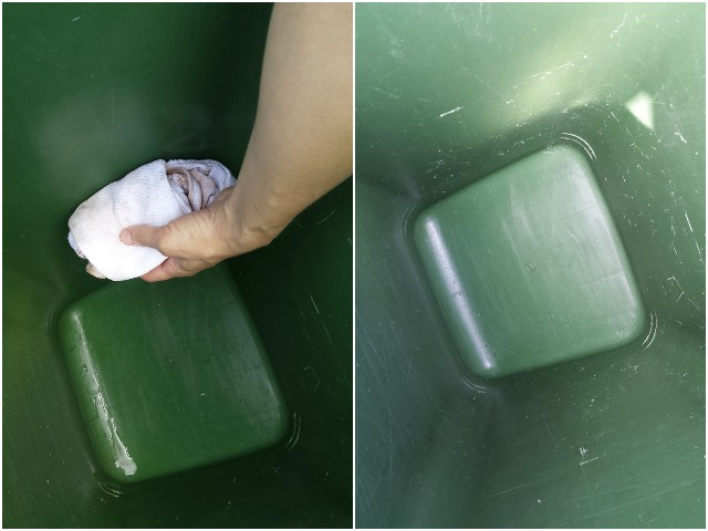 Čišćenje kante za smeće