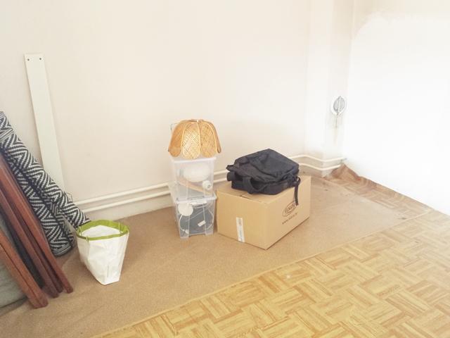 Raščišćavanje buduće dječje sobe