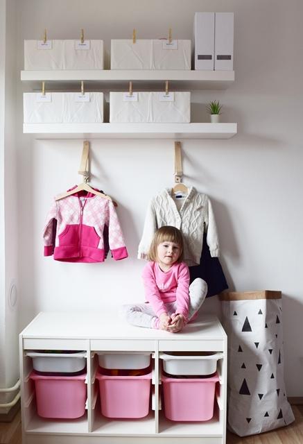 Organizacija dječje odjeće i igračaka